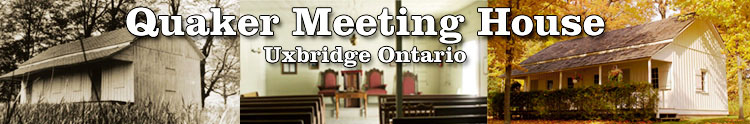 Quaker meeting house uxbridge ontario